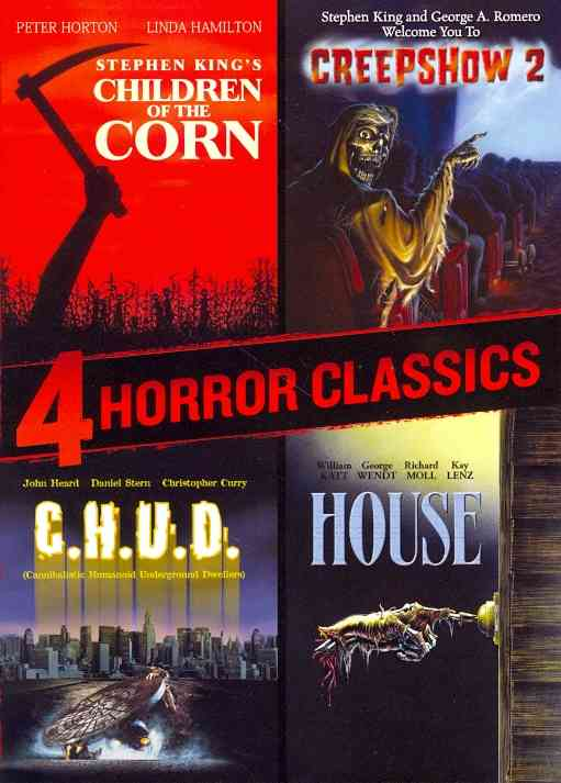 4 HORROR CLASSICS BY JOHN,DOMENICK (DVD)